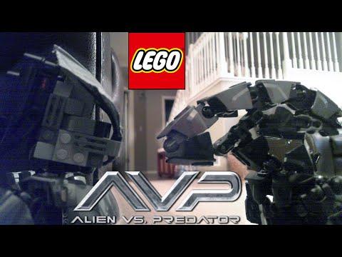 LEGO Alien Vs. Predator: A Stop Motion Film
