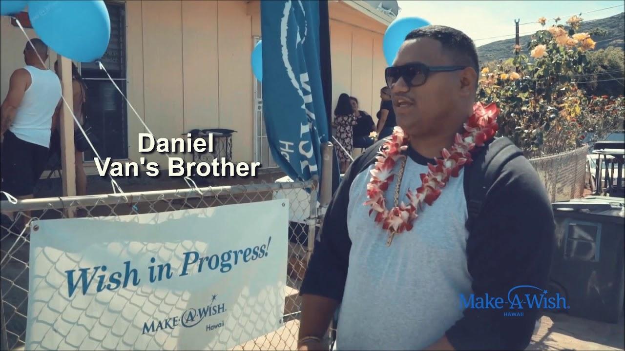 Wish kid Van's journey to get healthier and stronger - Make-A-Wish® Hawaii
