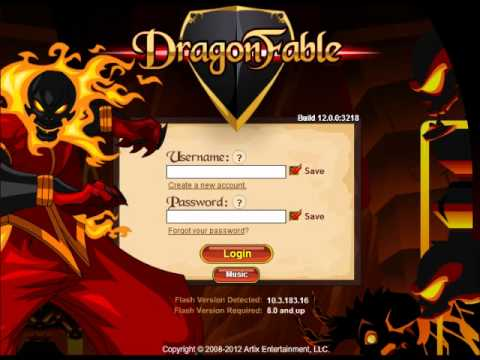 Dragonfable Music - Title Screen