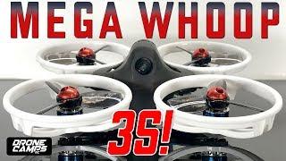Kingkong LDARC ET115 3S! - MEGA BRUSHLESS WHOOP! - Honest Review & Flights