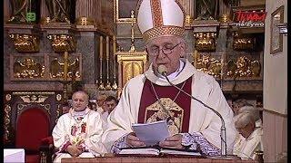 Homilia ks. abp. Wacława Depo wygłoszona podczas Mszy św. w Kaliszu