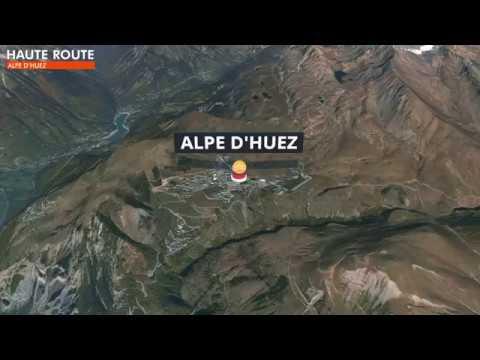 Haute Route Alpe dHuez 2018 3D Map YouTube
