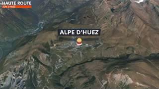 Haute Route Alpe d'Huez 2018 3D Map