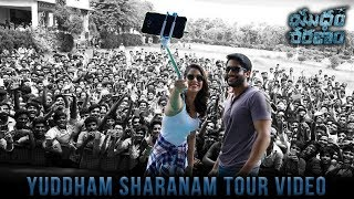 Yuddham Sharanam Tour Video   Chay Akkineni   Lavanya Tripathi   Srikanth