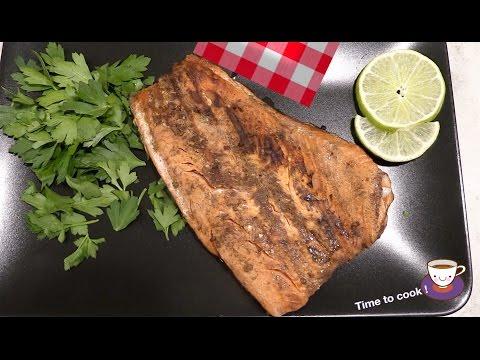 Как приготовить рыбу лосось правильно и вкусно, видео-рецепт