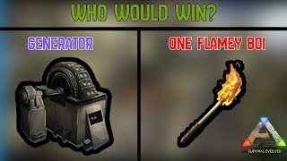 Generator vs One Flamey Boi - ARK: Official Small Tribes