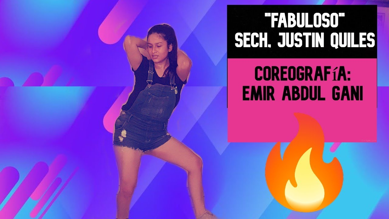 "Download ""FABULOSO""- Sech, Justin Quiles ‑ Coreografía Emir Abdul Gani"