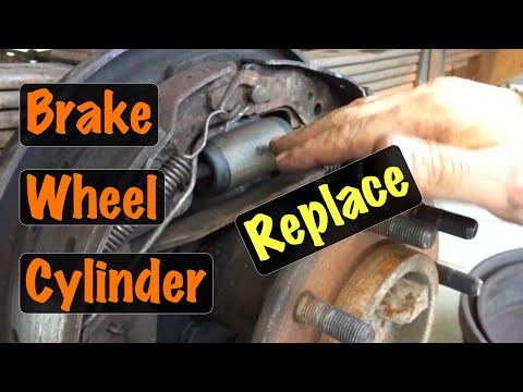 1994 – 1999 OBS GM Truck Rear Drum Brake Wheel Cylinder Replacement (Chevy & GMC)