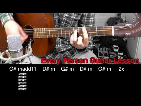 Every Person - John Frusciante (Guitar Lesson)