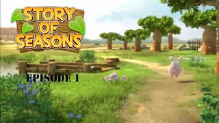 Let's Play Story of Seasons Episode 1 A New Life!