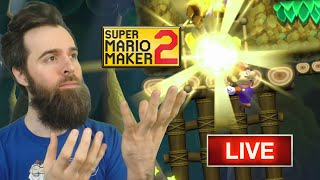 BIG TIME Gaming - Super Mario Maker 2 FRIDAY NIGHT Special [LIVE STREAM]