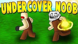 Undercover Noob Ep.9 Booga Booga | Roblox