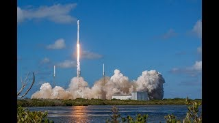 Spacex Falcon Heavy First Commercial Launch