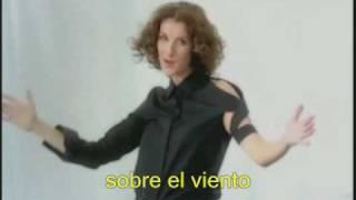 Celine Dion Sous le vent clip traducido