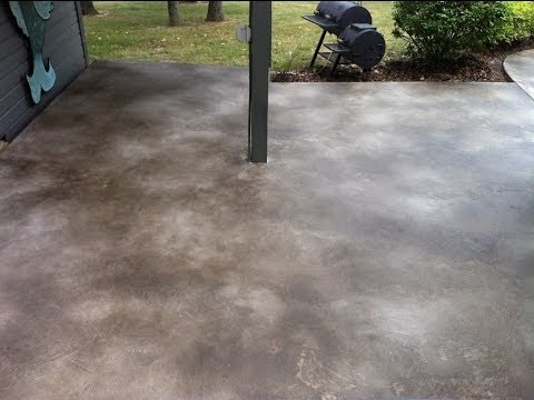 Decorative Concrete Coating Acid Stained Concrete Overlay