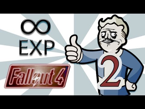 how to add exp in fallout 4