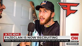 FAZE HOUSE ON THE NEWS!! **shocking**
