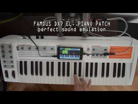 SYNTH DX7 PIANO android app