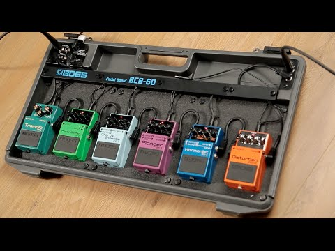 MusicRadar Basics: how to set up a pedal board for your guitar effects