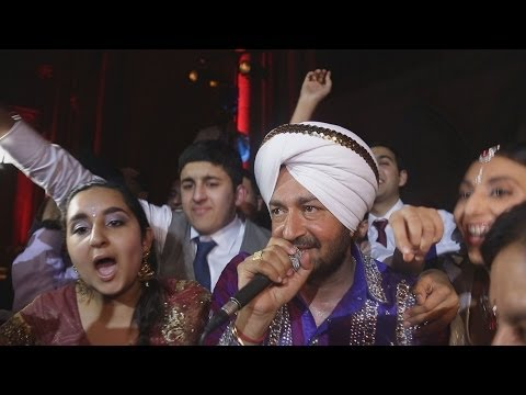 Amazing Peformance By Malkit Singh At The wediing Reception Of Harpreet & Ranjit