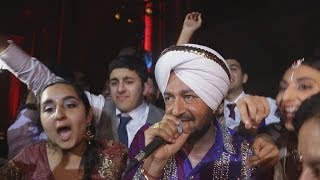 Amazing Peformance By Malkit Singh At The wediing Reception Of Harpreet & Ranjit
