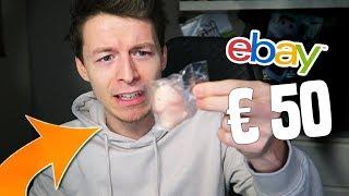 OPGELICHT voor 50 EURO op EBAY!! (mystery box met rotzooi)