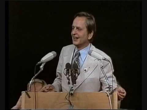 Palmes avslutningsanförande mot Fälldin i den stora valdebatten 1976