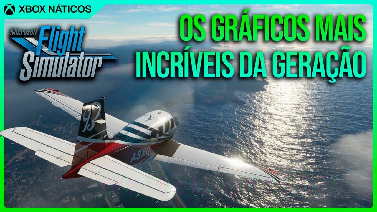 Flight Simulator é INCRIVELMENTE LINDO - Game exclusivo de Xbox Series X | S e PC