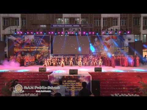 D.A.V Public School,Nerul 15th Anual Day Part 1 Full HD
