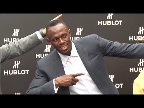 Bolt delights crowd at Kyoto event
