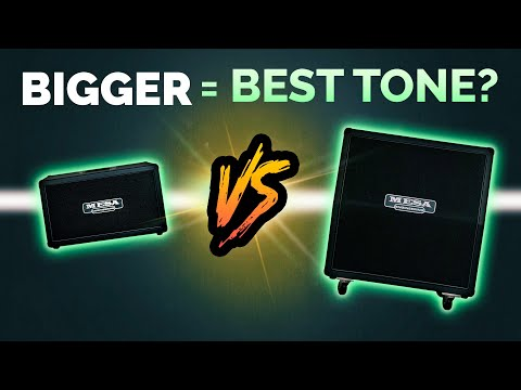 Does size matter? BEST GUITAR TONE 2x12 vs 4x12 Cabs