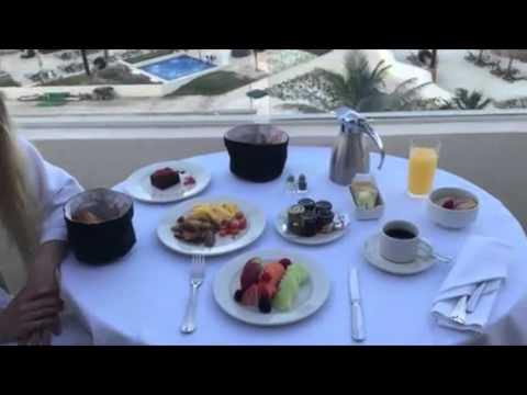 Travel Tip: Enjoy breakfast with a view at Hyatt Ziva in Cancun, Mexico