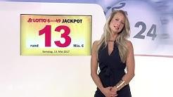 Ziehung der Lottozahlen vom 13.05.2017