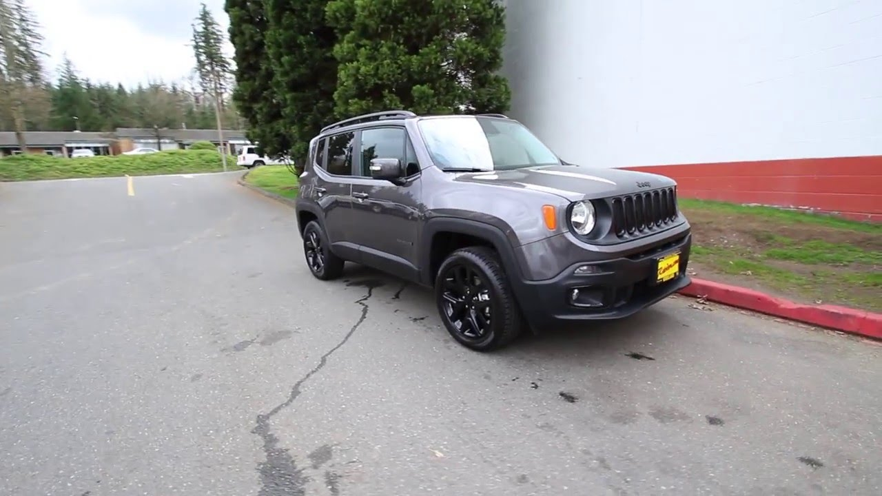 2016 Jeep Renegade Latitude Dawn Of Justice Edition