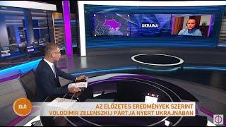 Előre hozott parlamenti választást tartottak vasárnap Ukrajnában