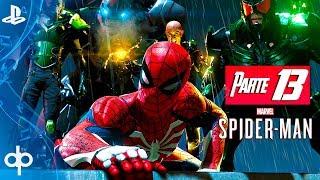 SPIDERMAN PS4 Parte 13 Los 6 Siniestros (Octopus, Buitre, Scorpion, Rhino, Electro, Negative)