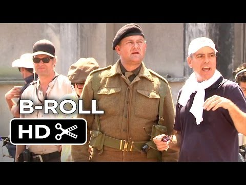The Monuments Men Complete B-Roll (2014) George Clooney, Cate Blanchett Movie HD