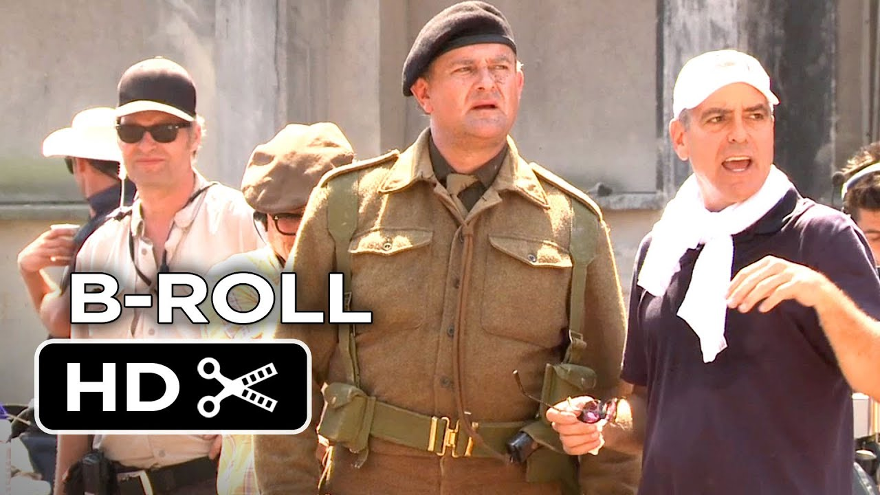 Download The Monuments Men Complete B-Roll (2014) George Clooney, Cate Blanchett Movie HD