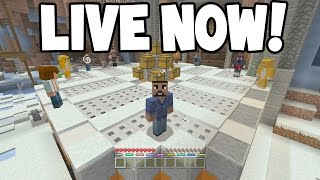 LIVE! - Minecraft Xbox - 16 Player Battle Mini-Game w/Subscribers! COME JOIN!