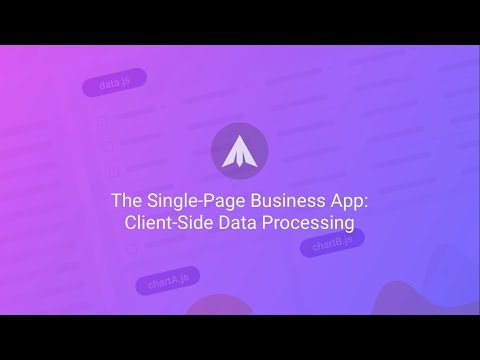 Client-Side Data Processing with Webix Jet