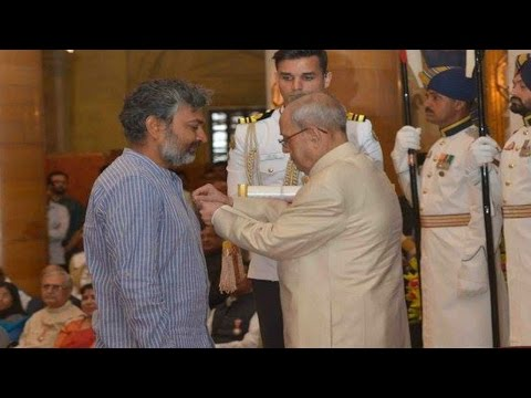 SS Rajamouli Honoured with Padma Shri Award   Padma Awards Presentation Ceremony   Mango News