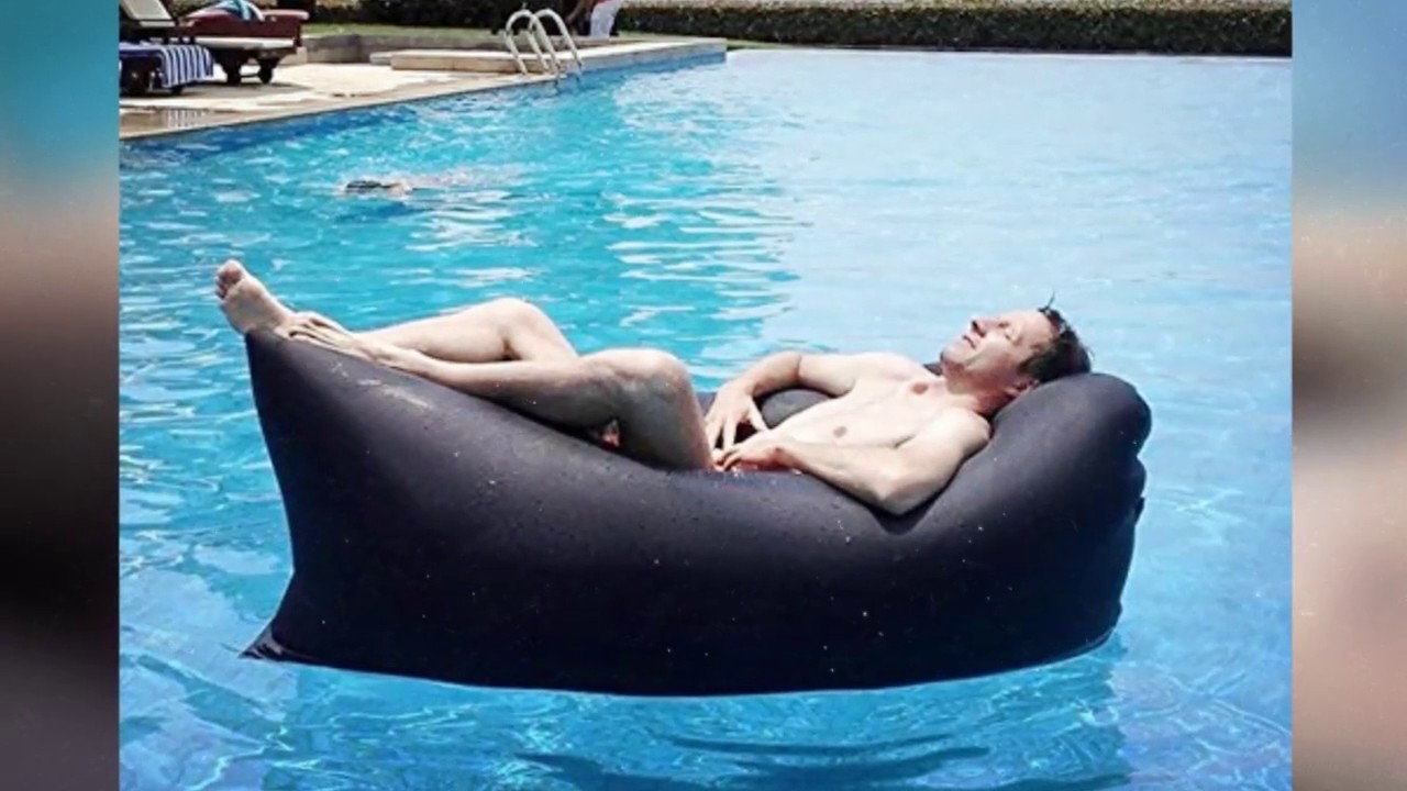 Beau Inflatable Air Lounger For Camping | Portable Outdoor Air Sofa | Lazy Float  For Pool