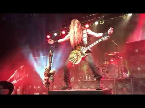 BLACK LABEL SOCIETY - Bleed For Me - Indianapolis, IN 1/4/2018 (60 FPS)