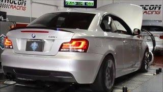 BMW 135i N55 Stage 2 Dyno Run (JB4 Stage 1 vs JB4 Stage 2 compairson dyno)