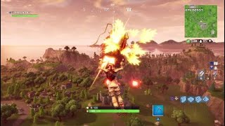 Fortnite Battle Royale Gameplay- Solo win with the moon walker skin