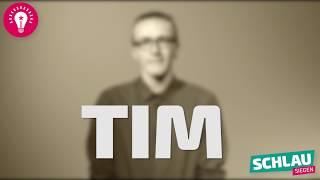 Zehn Fragen an Tim | SCHLAU Siegen