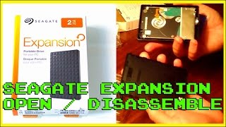 2TB Seagate Expansion Portable 2.5 inch HDD: Open & Disassemble (PS4 Upgrade?)