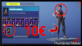 I BUY A FORTNITE COMPTE A 10 WITH ALL THE RARE SKIN!?