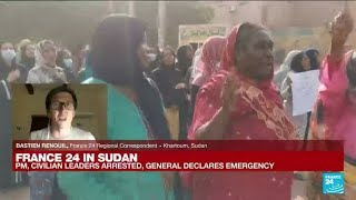 FRANCE 24 in Sudan: Sudan army kills at least one, wounds 80 anti-coup protesters