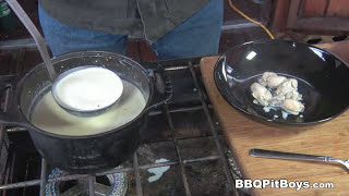 Oyster Stew recipe by the BBQ Pit Boys